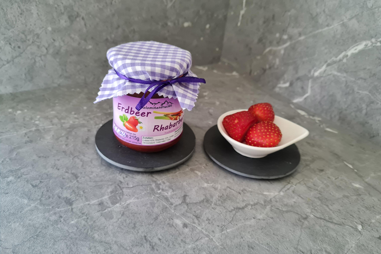 Erdbeer- Rhabarber Aufstrich